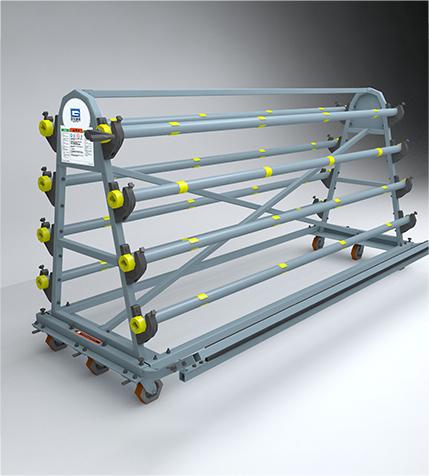 移动式膜材储藏架