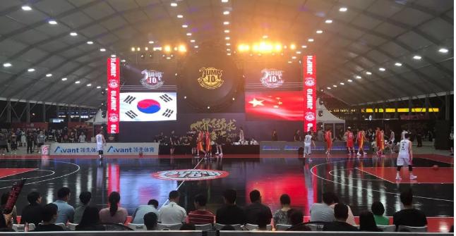 领先体育3X3篮球架比赛