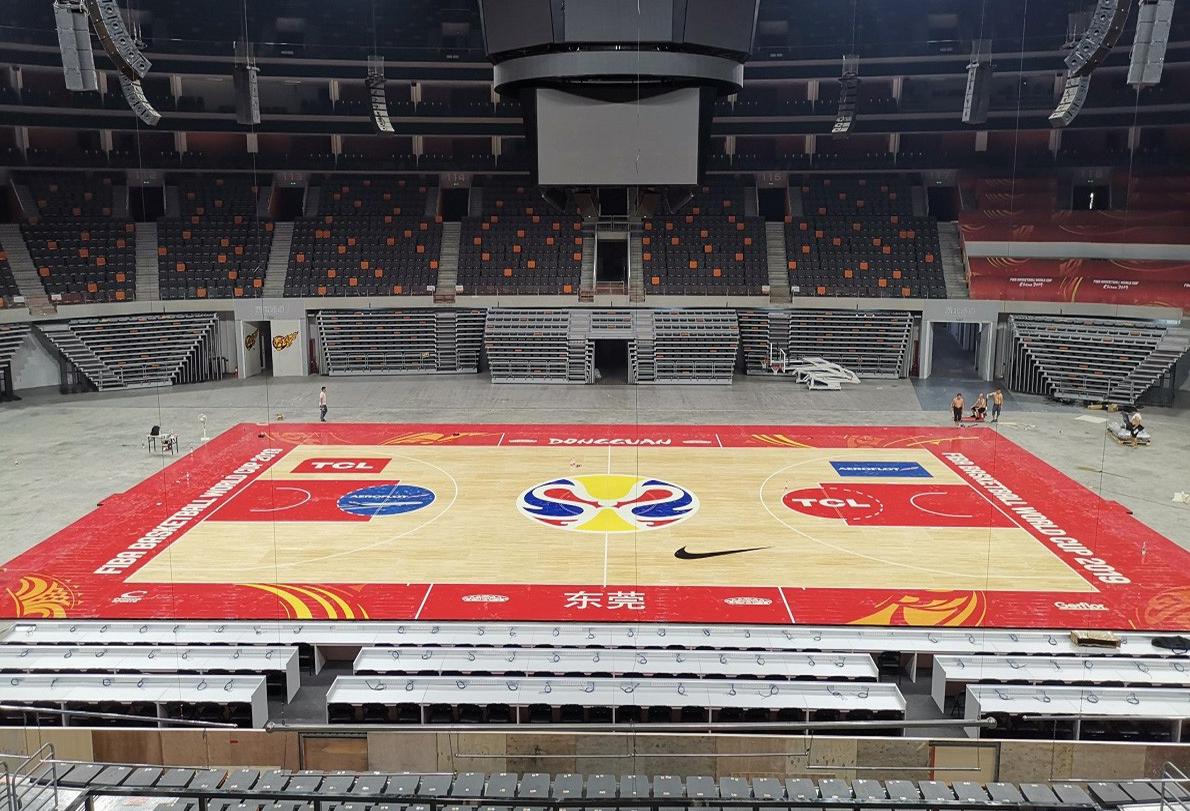东莞篮球中心
