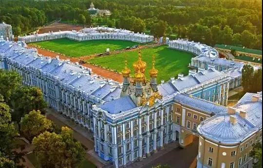 叶卡捷琳娜大帝的皇村