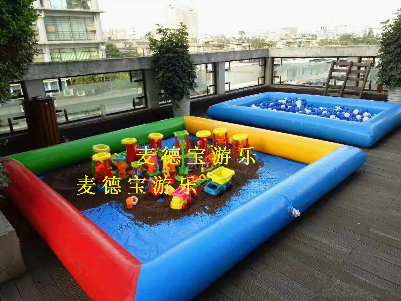 福州名城珑域-充气沙池-2