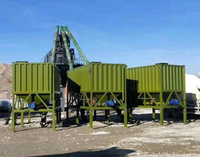 自贡免基础高效HZS90型混凝土搅拌站