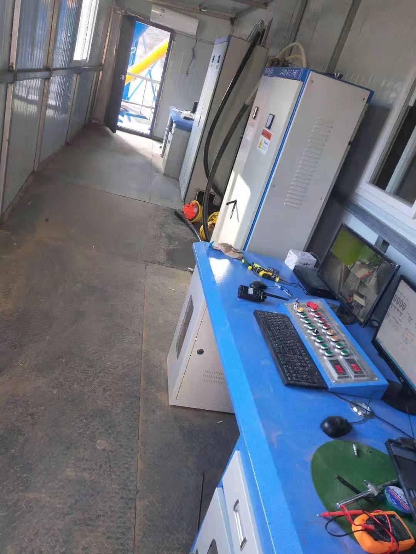 延安双线HZS120型混凝土搅拌站集中控制系统