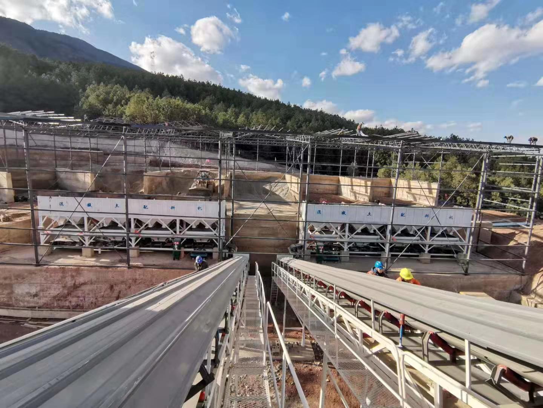 云南建投双HZS120型混凝土搅拌站
