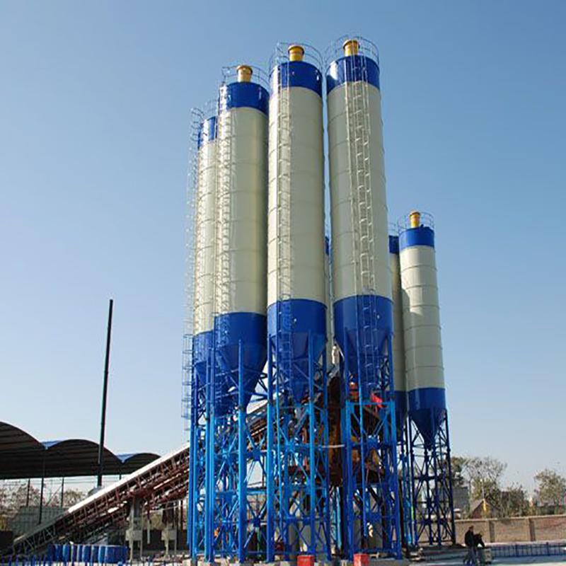 河南中泰重工立式水泥仓搅拌站配套用水泥罐800-3