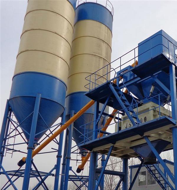 中泰重工HZS90混凝土拌合站图片