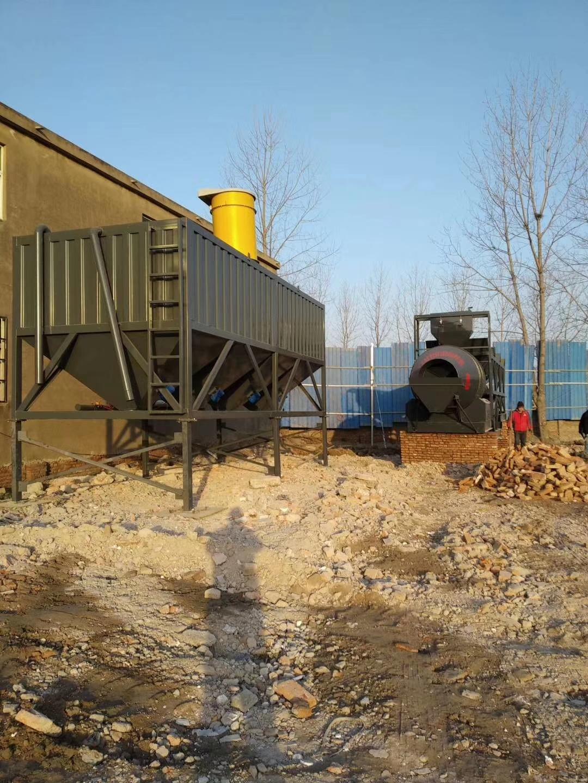 山西太原60吨卧式水泥仓