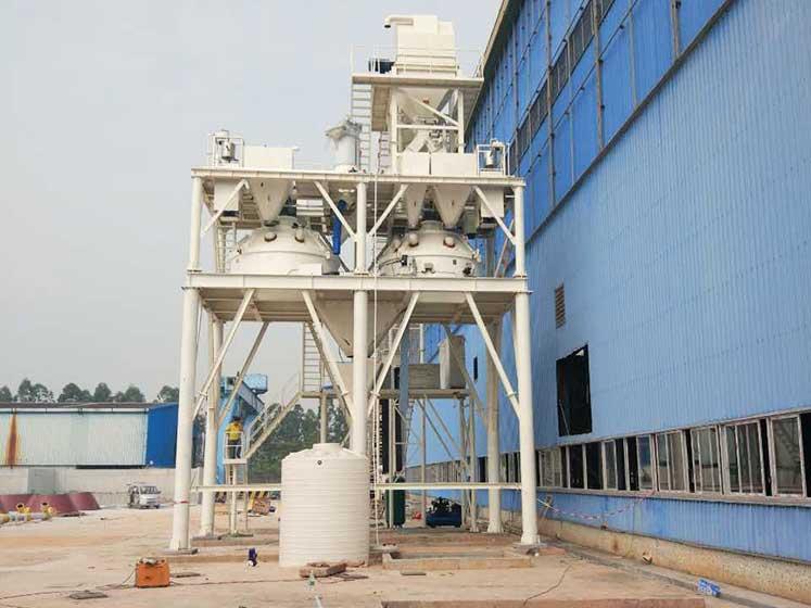 河南郑州耐火材料生产线
