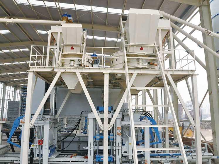 重庆江津砖机生产线