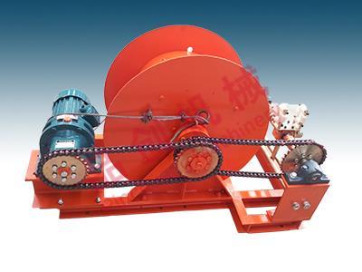 滚筒式电缆绞车8