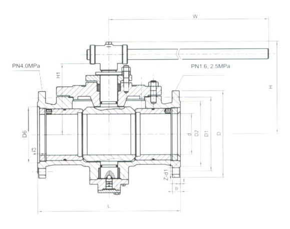 Q41H金屬硬密封球閥2