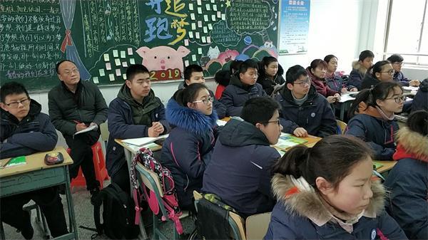 6王成刚副校长和初二数学组一起听课