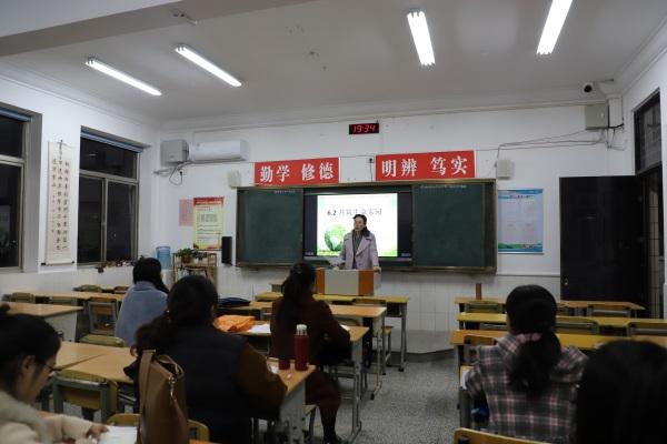 3陈巧云副校长在示范备课