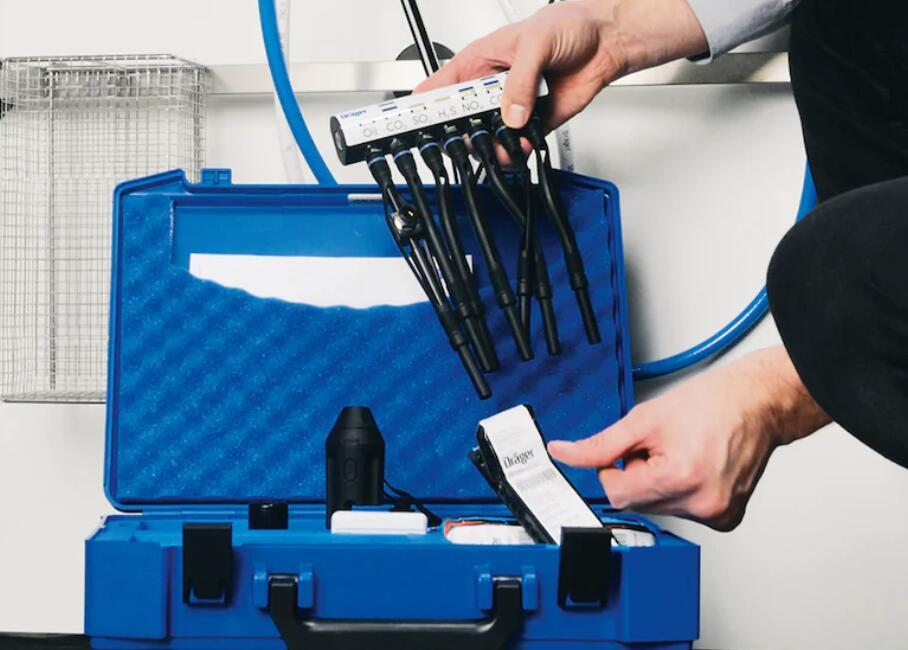 德尔格Multitest medical压缩气体检测仪