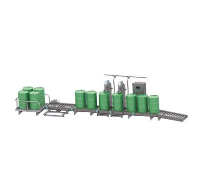 PC-DCS-300灌装机生产线