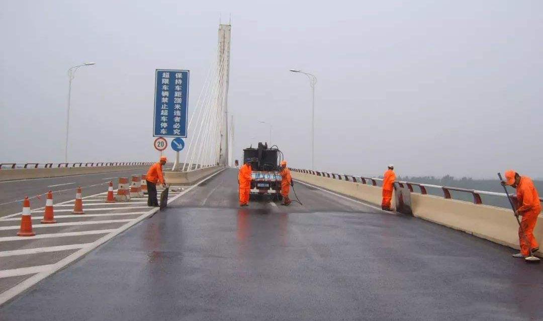 橋面防水施工2