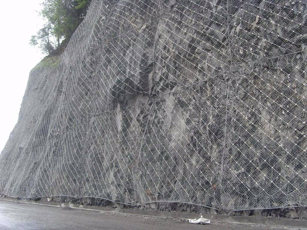 主动边坡防护网4