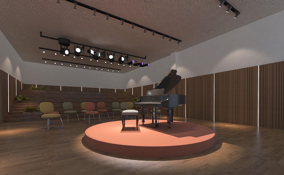 爱缇思钢琴培训机构音乐厅二次调整