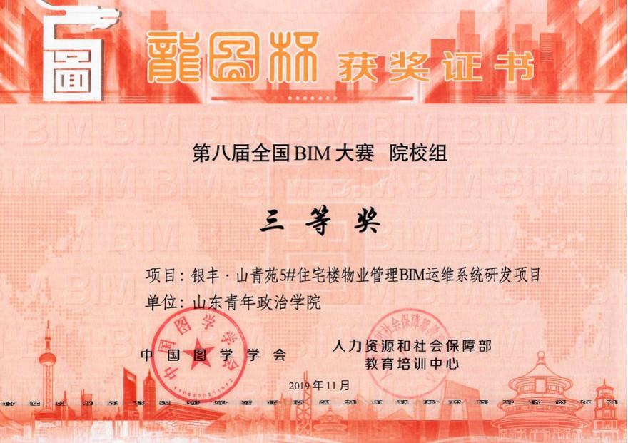 龙图杯证书