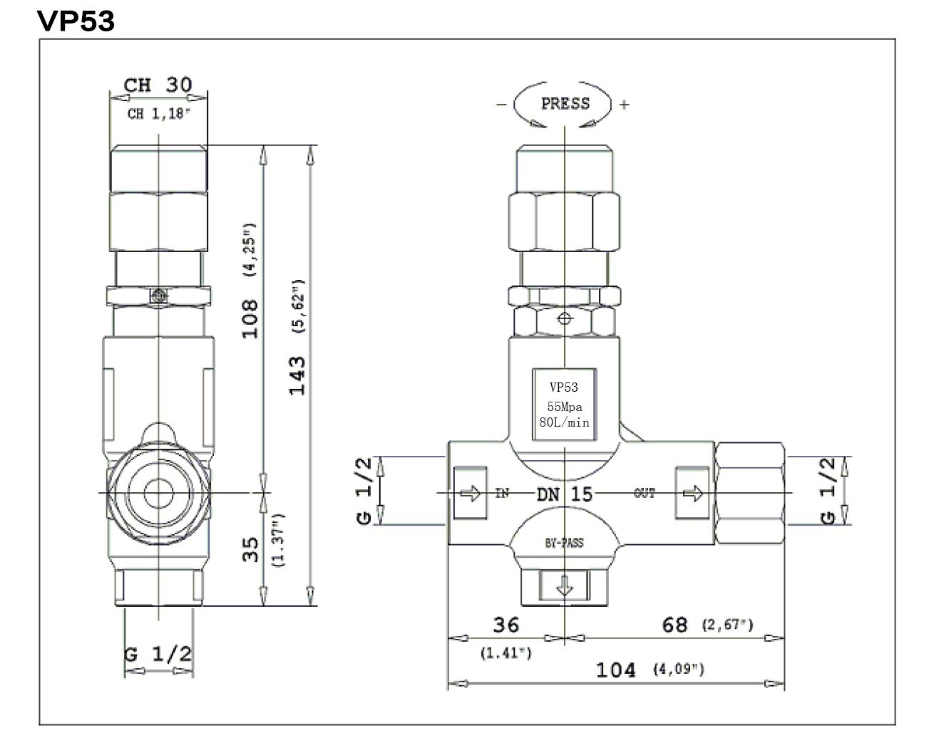 VP53安裝尺寸