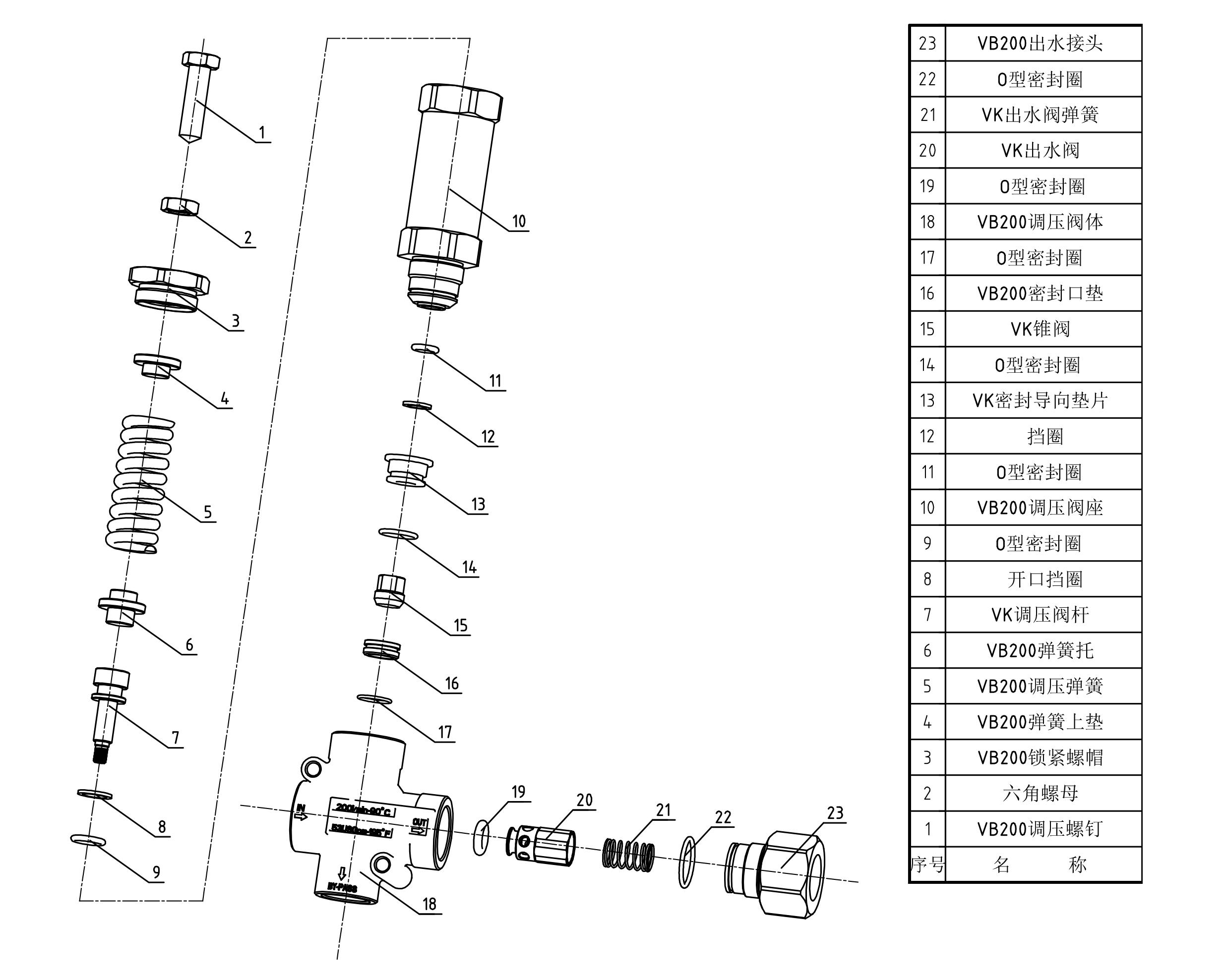 VB200爆炸图原始尺寸图