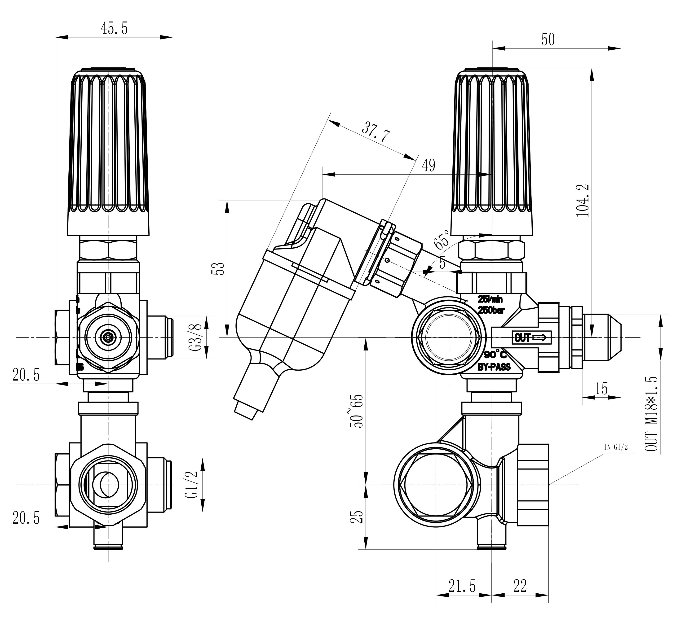 VRC安装尺寸图