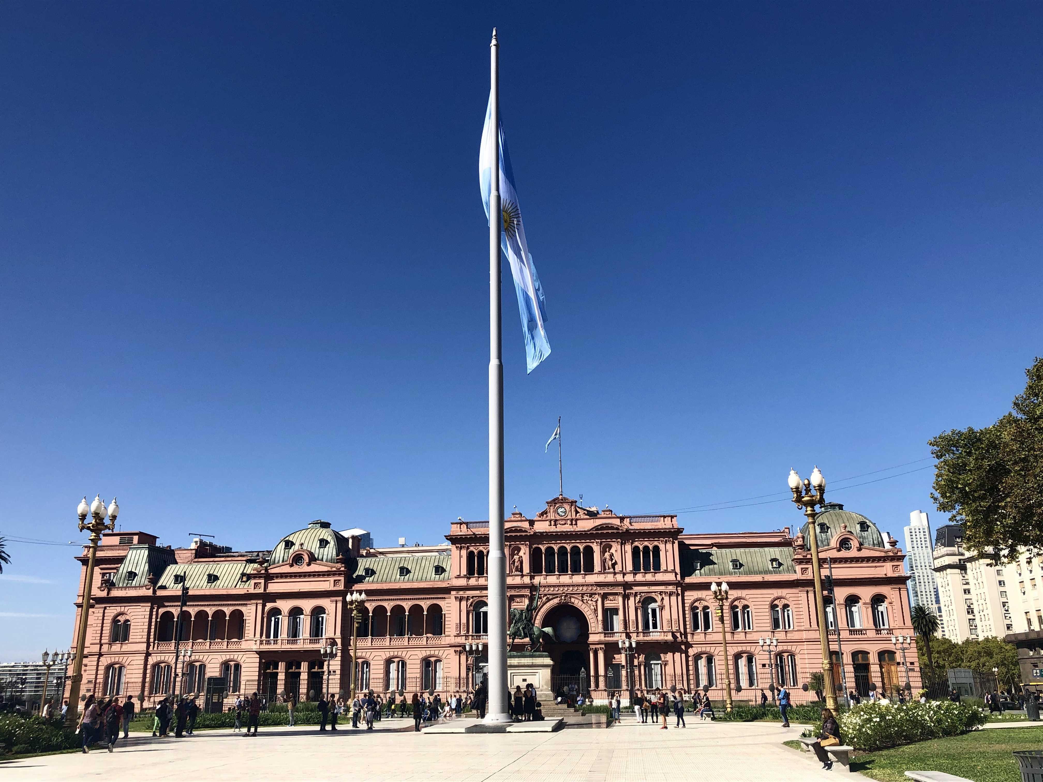 阿根廷五月广场