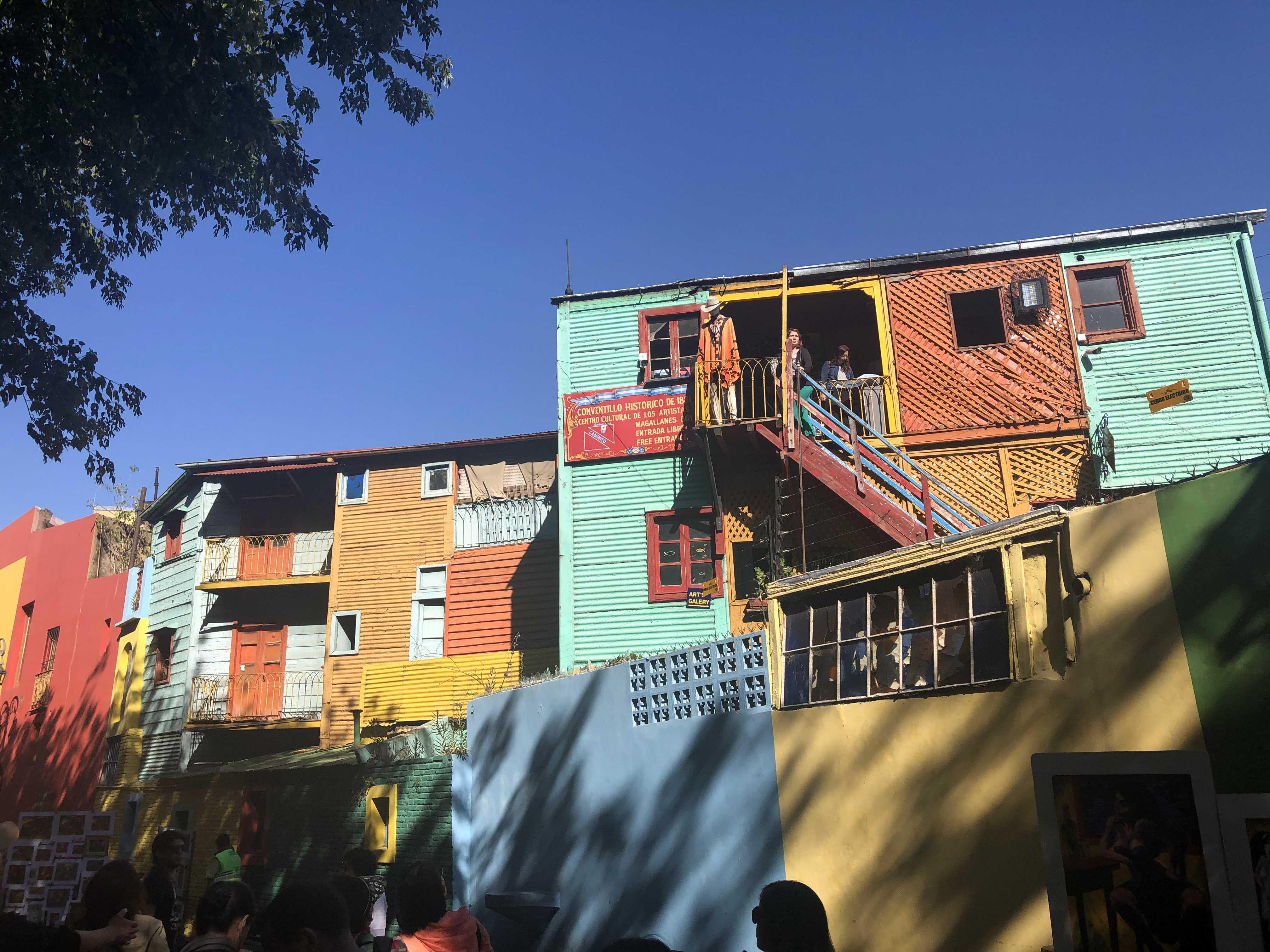 阿根廷博卡区街景1