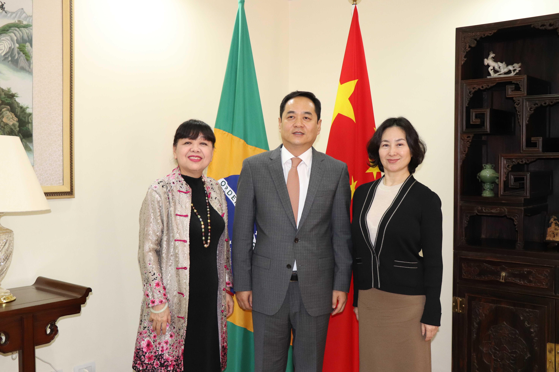 中华人民共和国驻巴西联邦共和国大使杨万明