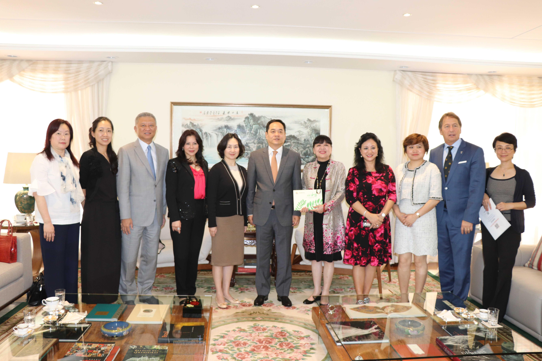 中华人民共和国驻巴西联邦共和国大使杨万明2