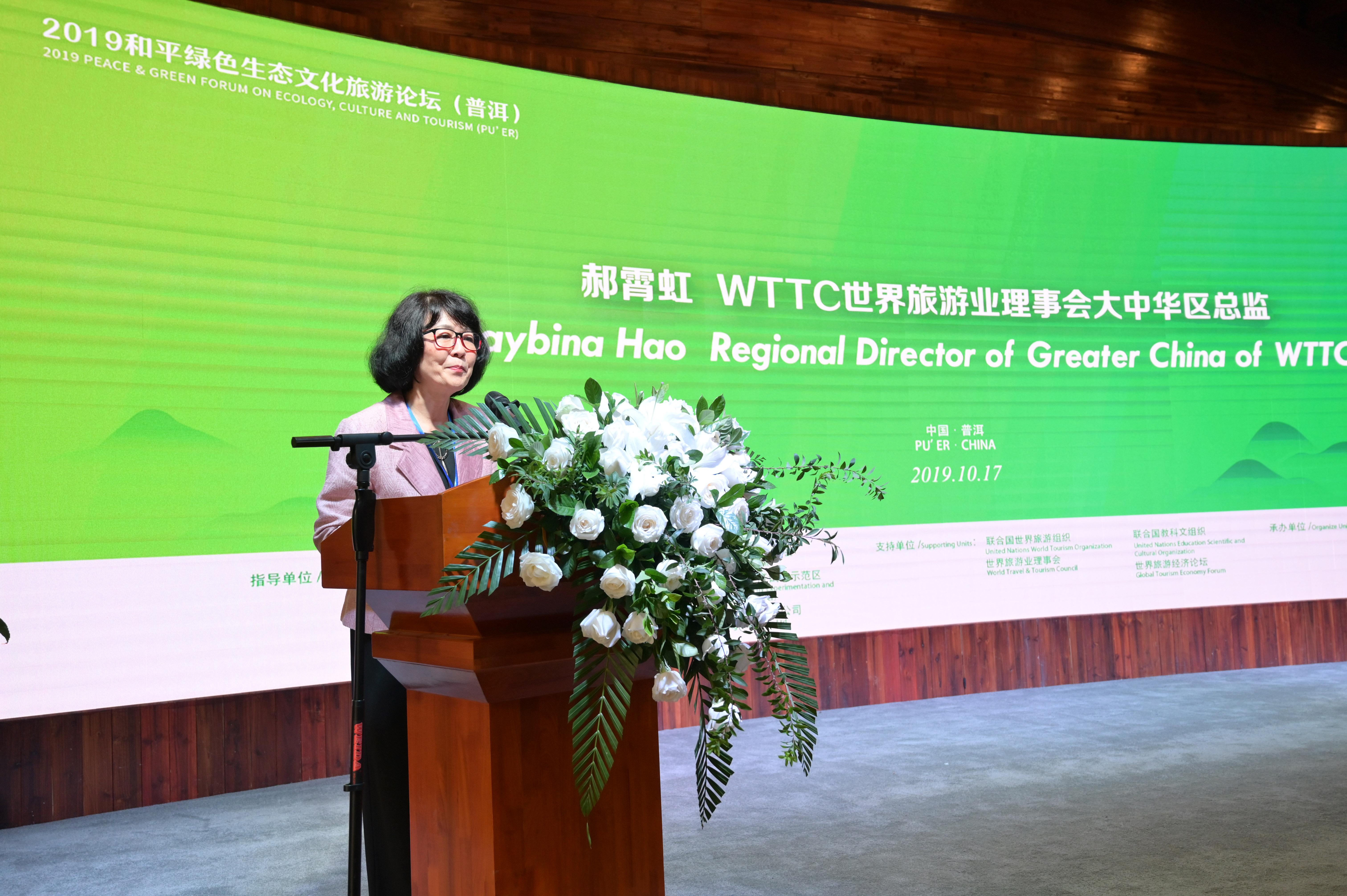 精选-5WTTC大中华区总代表郝霄虹致辞