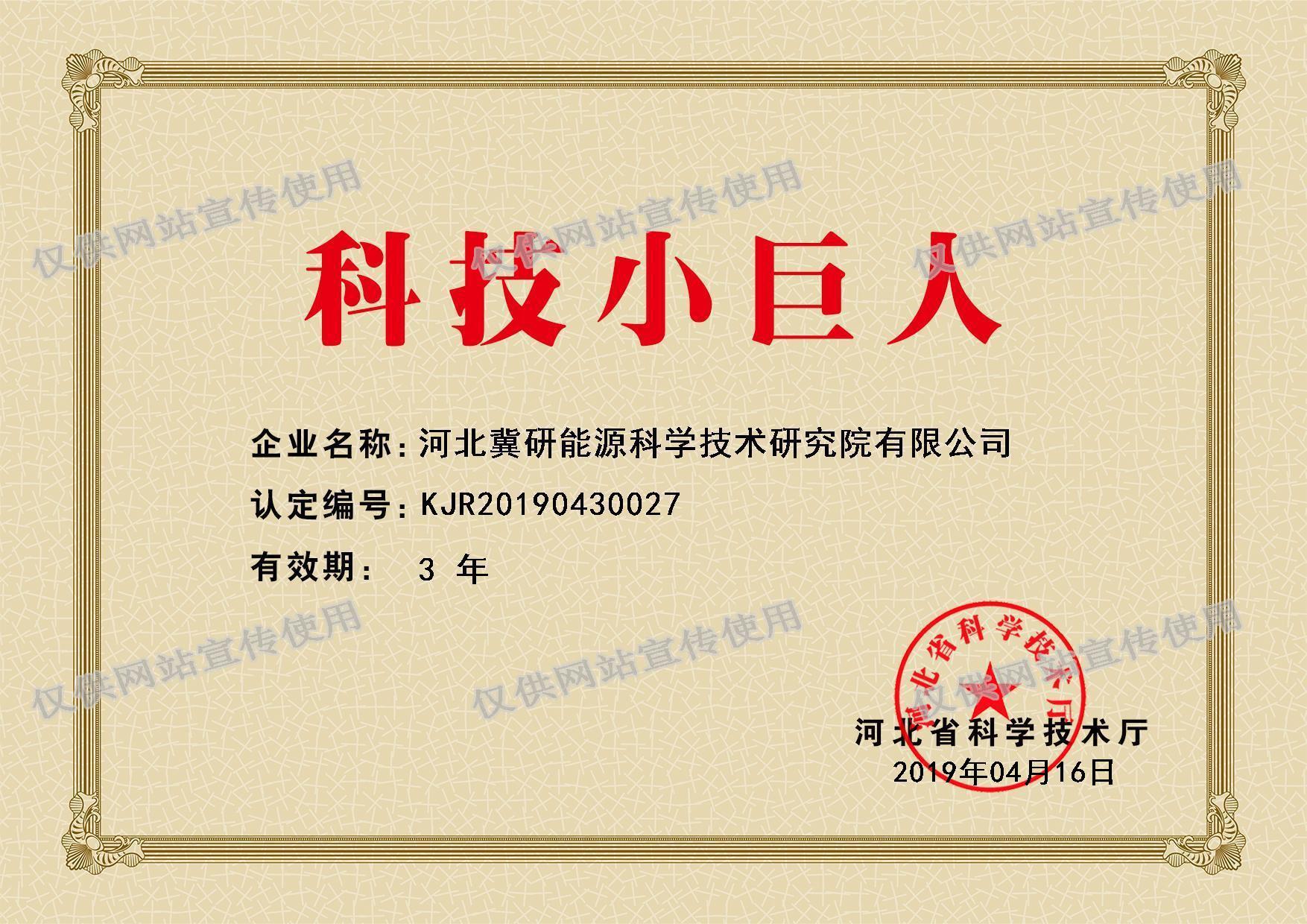 zizhi-小巨人证书