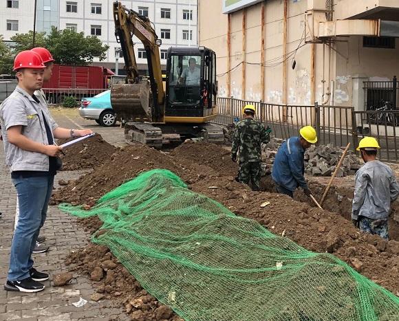 迎国庆安全文明施工保运行信息报送照片2