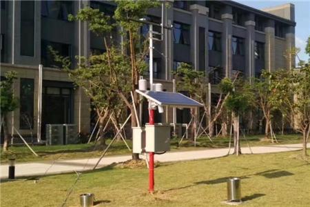 小型自动气象站的安装