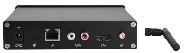 HD5-HDMI-L后端连接图