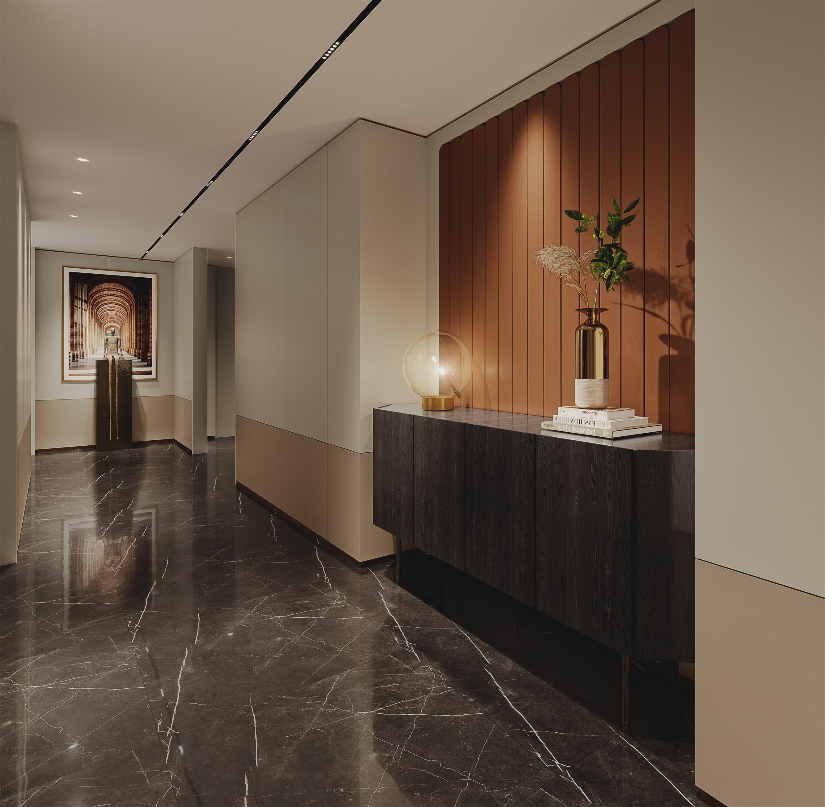 看图王批量图片转换结果-哈尔滨展厅走廊视角