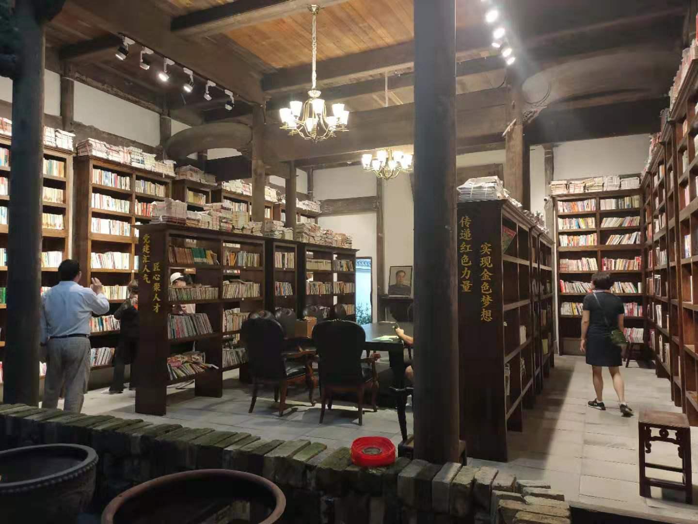 银杏长廊图书馆