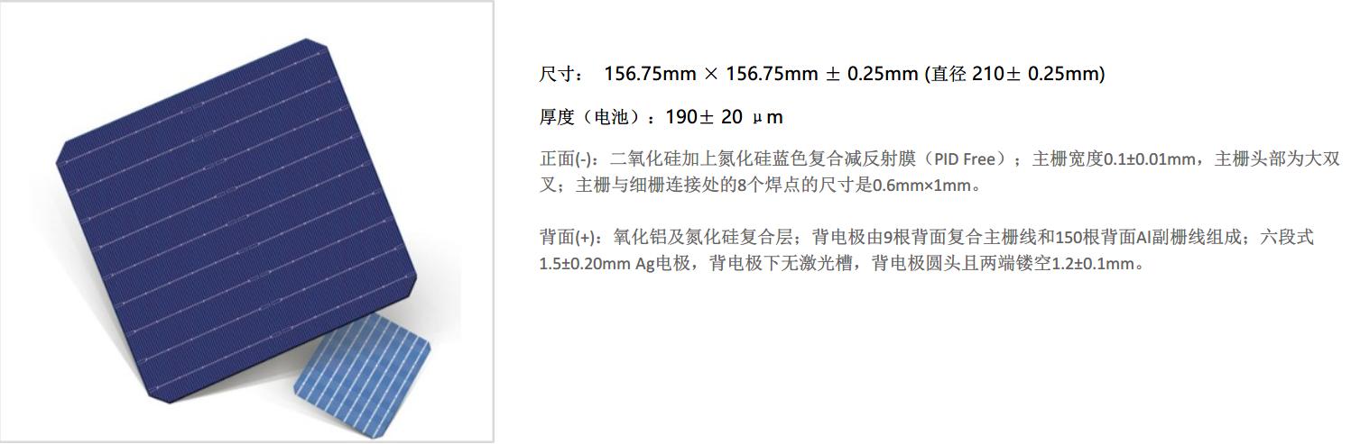 PERC电池-156.75PERC电池-9BB双面PERC电池
