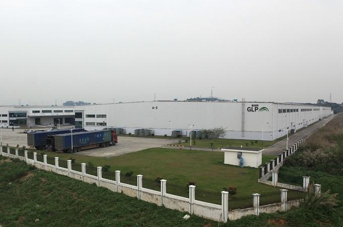 钢结构-广州普洛斯汽车零配件物流园项目