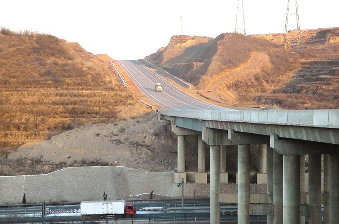其他类型-阳泉龙川大桥项目