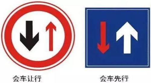 会车交通图标