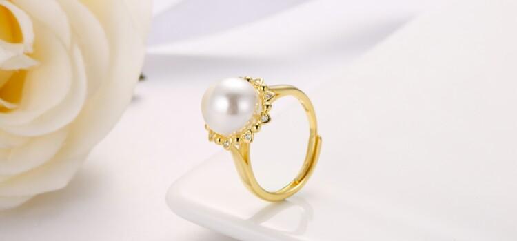 心形围珍珠吊坠,耳钉,介子-IMG_2845_1