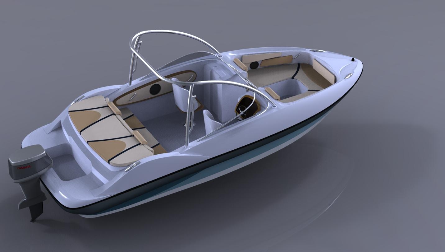 小型游艇外观yabo亚搏体育官网3-青岛勤为径yabo亚搏体育官网