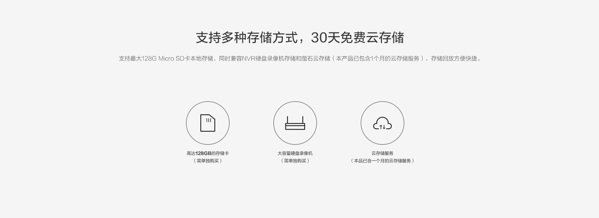 C1HC互联网摄像机-YS-C1HC-10