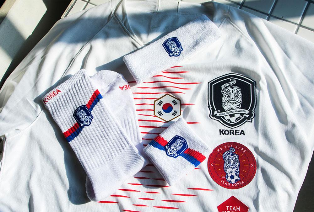 韩国足协logo应用
