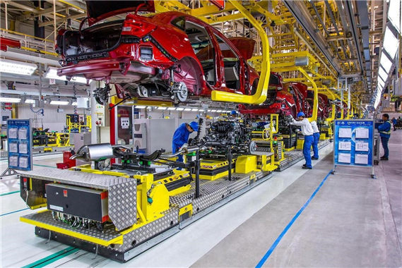 Car & SUV assembly line