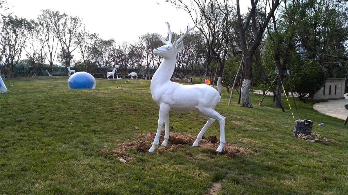锦绣天下展示区雕塑-2