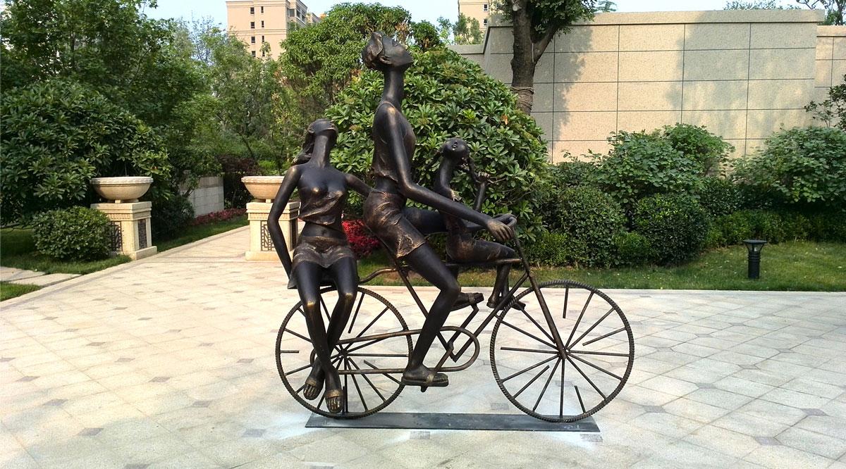 锦绣天下展示区雕塑-4