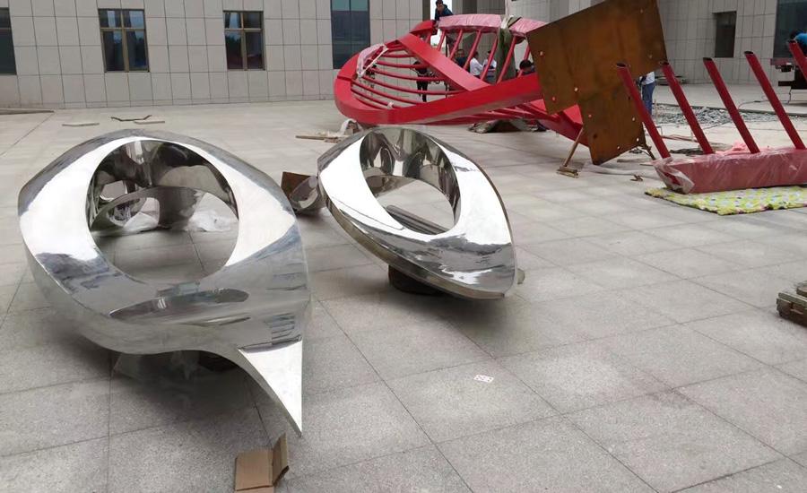 武威广场雕塑-1
