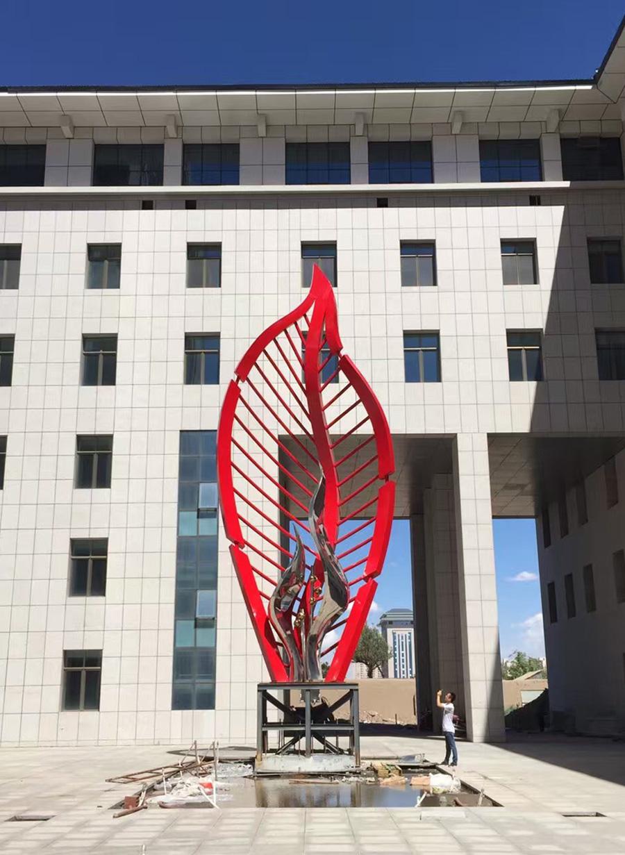 武威广场雕塑-2